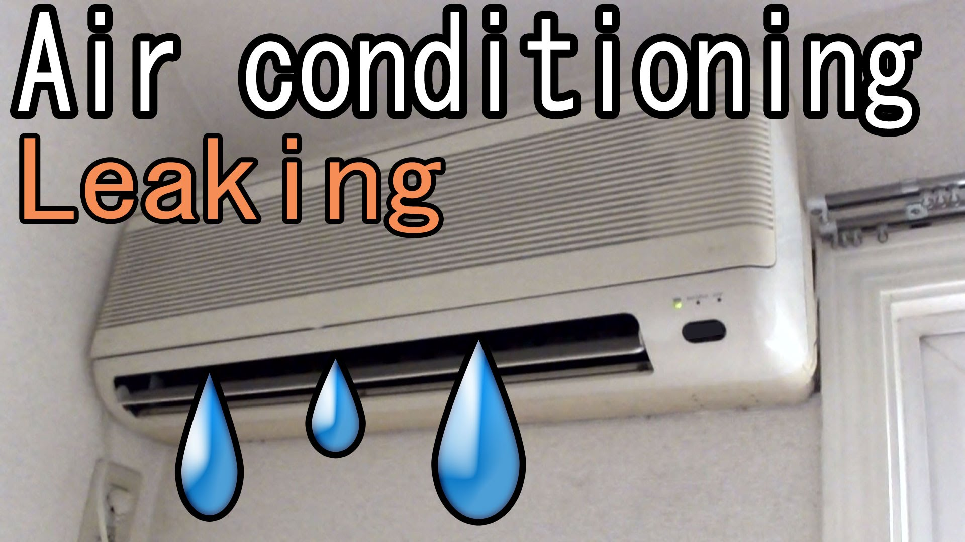 Why is there water coming from my Air Conditioner