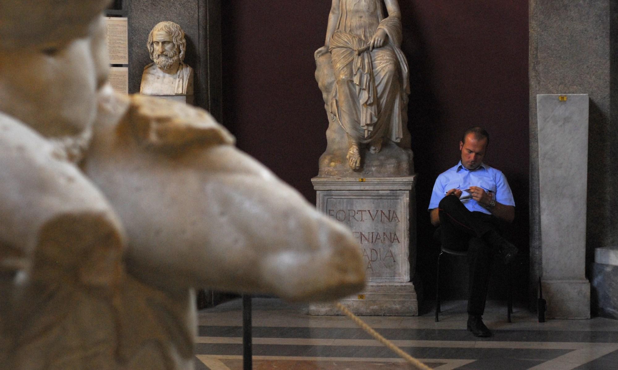 Security guard in Vatican