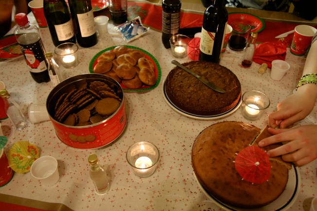 Finally, my favorite part, the dessert! Swedish cookies, Swedish rolls, and Swedish cakes. Everything was delicious!