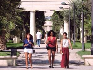 "Walking through ""Garden De La Turia"", soooo beautiful!"