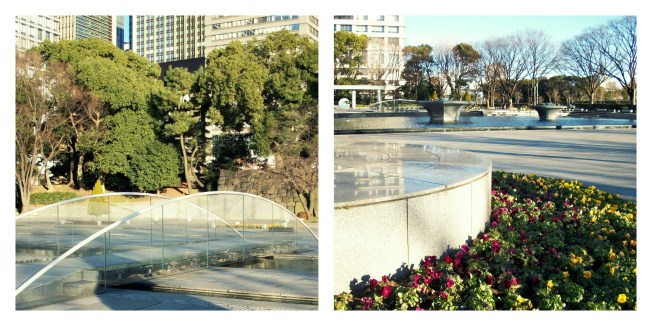 The layout of the park left a lot of room to walk around, sit, and get close to nature. It carried through concrete elements of the city and meshed it with the soft bright colors of plants and trees.