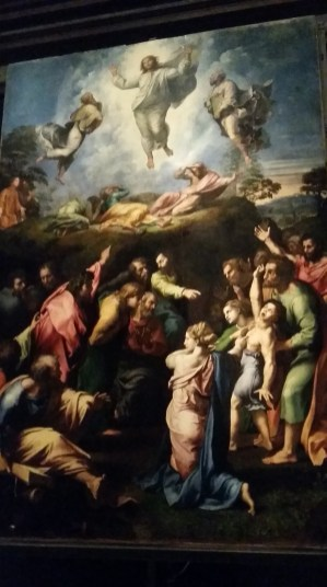 Raphael's Transfiguration is so beautiful in person, you can't capture it with a photo