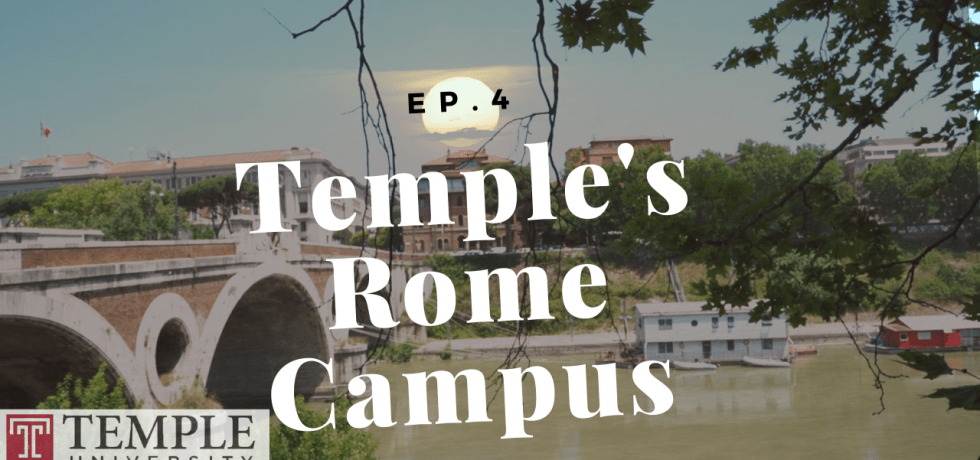Temple Rome Campus post