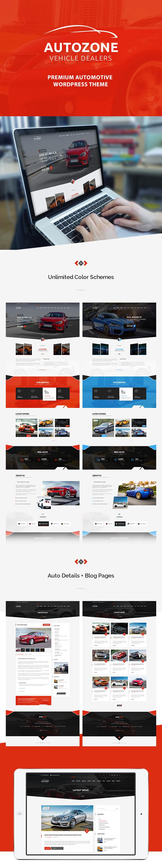Autozone - Auto Dealer & Car Rental Theme - 3