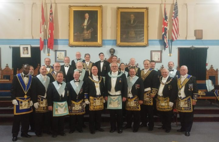 Installation of the Officers - Sept, 2017