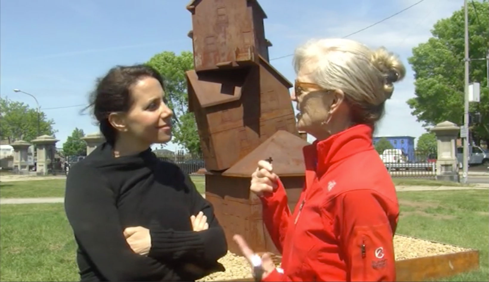 CTN's Lesley MacVane chats with Judith Hoffman, Artist