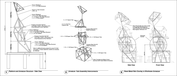 Common Kinetics construction drawings
