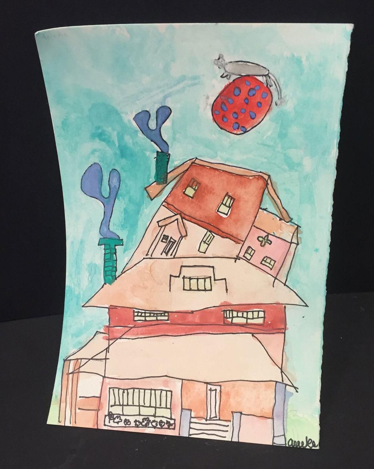 Oak Street Studios students...paint