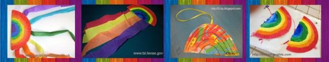 Atividade arco iris possibilidades festa junina