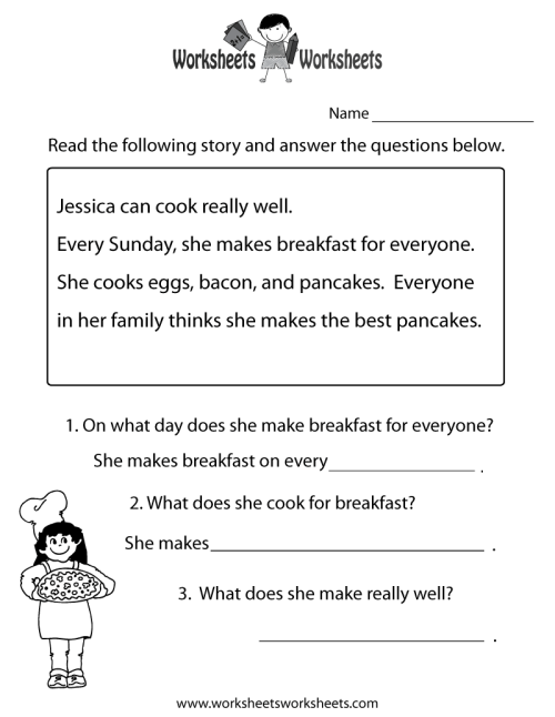 small resolution of Printables. Reading Comprehension Grade 1. Tempojs Thousands of Printable  Activities