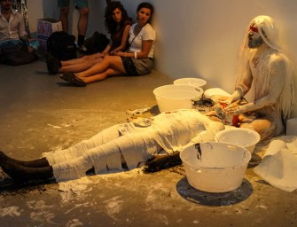 "An Image is a Puzzle: 'Fixing' Performance Art in ""Body as Omen"""