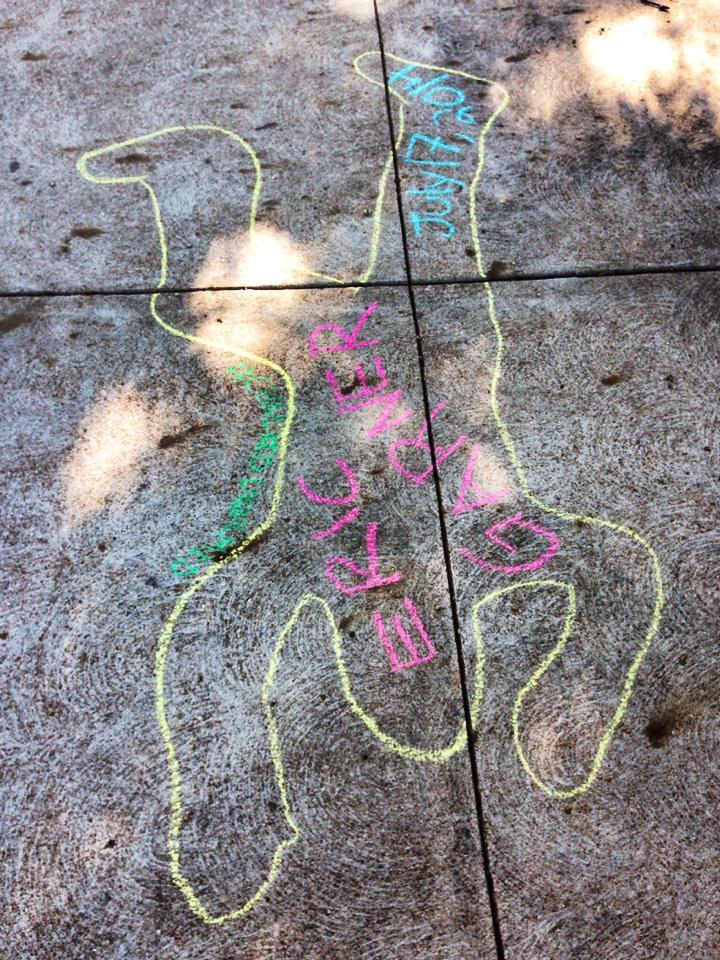 #ChalkUnarmed by Mallory Nezam