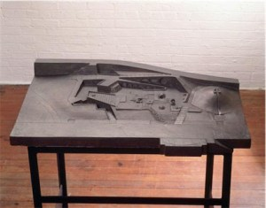 Final Model for Riverside Park Playground, 1965