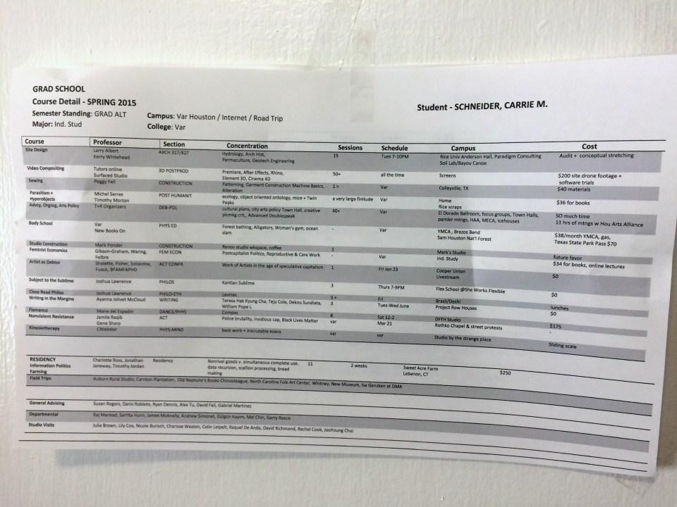 schneider-gradschool-schedule