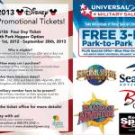 Orlando Military Theme Park Discounts