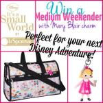 LeSportSac It's a Small World Medium Weekender Giveaway!