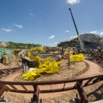 Seven Dwarfs Mine Train on Track to Open in 2014