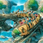 Snow White Seven Dwarfs Mine Train Roller Coaster Ride Update #WaltDisneyWorld #WDW