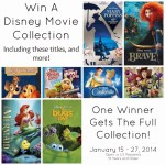 Win a Disney Movie Collection of 20 Movies