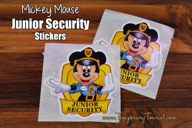 Mickey Mouse Junior Security Stickers