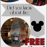 Free Disney World Resort Tours