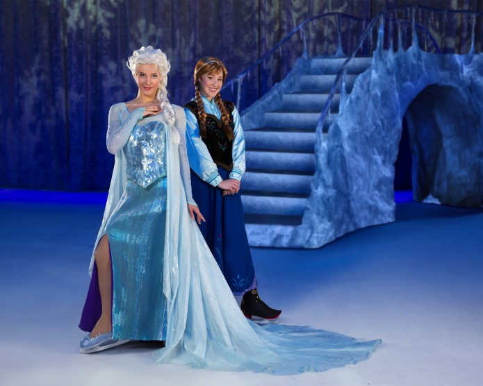 Disneys Frozen on Ice Anna and Elsa