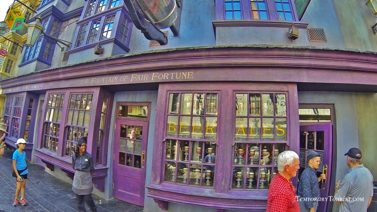 Foutain of Fair from Diagon Alley from Universal Studio's Wizarding World of Harry Potter