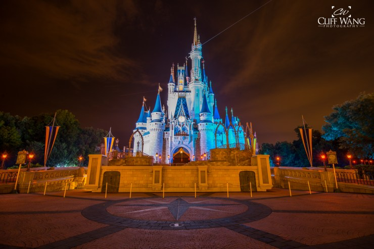 Shooting Cinderella's Castle at WDW and Post Process Editing
