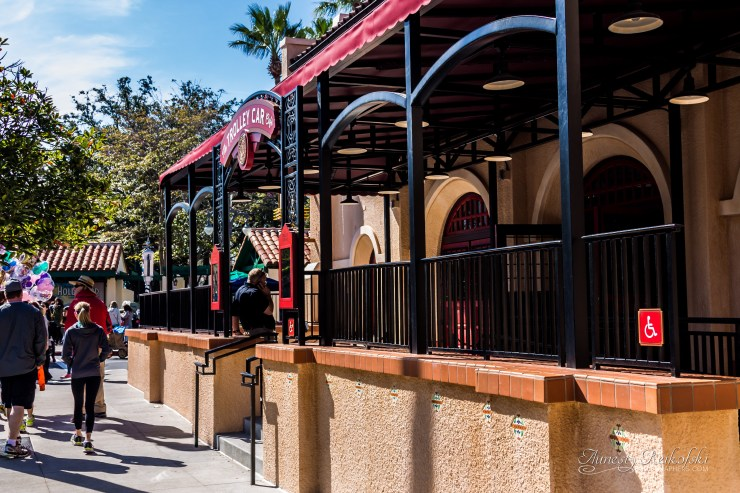 New Starbucks inside of Disney's Hollywood Studios - The Trolley Car Cafe