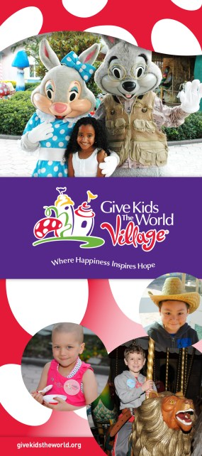 Give Kids the World Village Awarness Drive - Helmets for Hope
