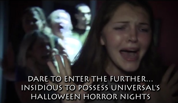 DARE TO ENTER THE FURTHER… INSIDIOUS FRANCHISE TO POSSESS UNIVERSAL'S HALLOWEEN HORROR NIGHTS