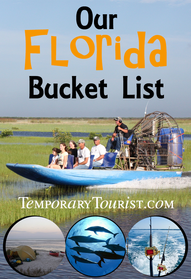 Our Florida Buckete List
