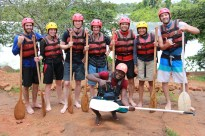 nile rafting gruppenfoto 1