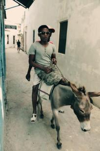 lamu esel riding