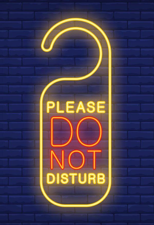Savoir s isoler de temps en temps et couper toutes sources de distraction.