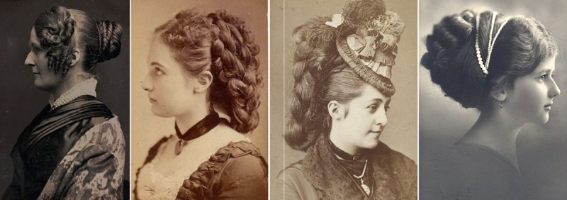 Victorian and Edwardian ladies