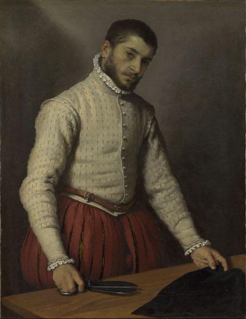 Le tailleur, Giovanni Battista Moroni (1570-1575)