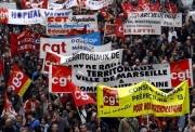 La manifestation des fonctionnaires à Marseille