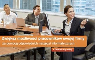 Une capture d'écran du site polonais de Microsoft