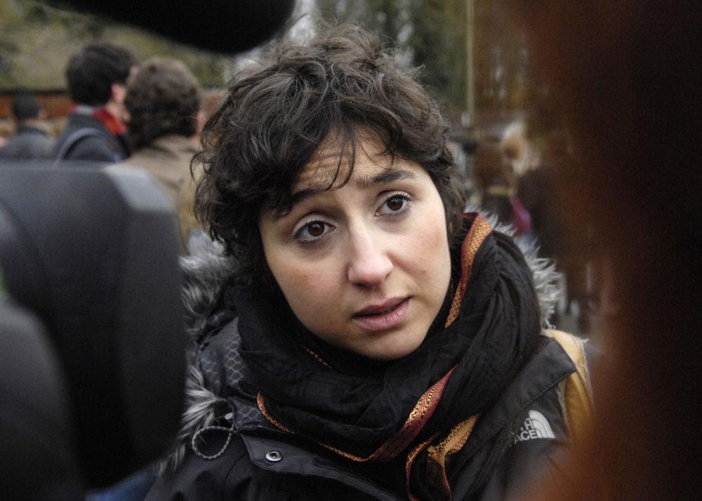 """Sihem Habchi, la présidente de """"Ni putes ni soumises"""" veut porter plainte contre le NPA (AFP)"""