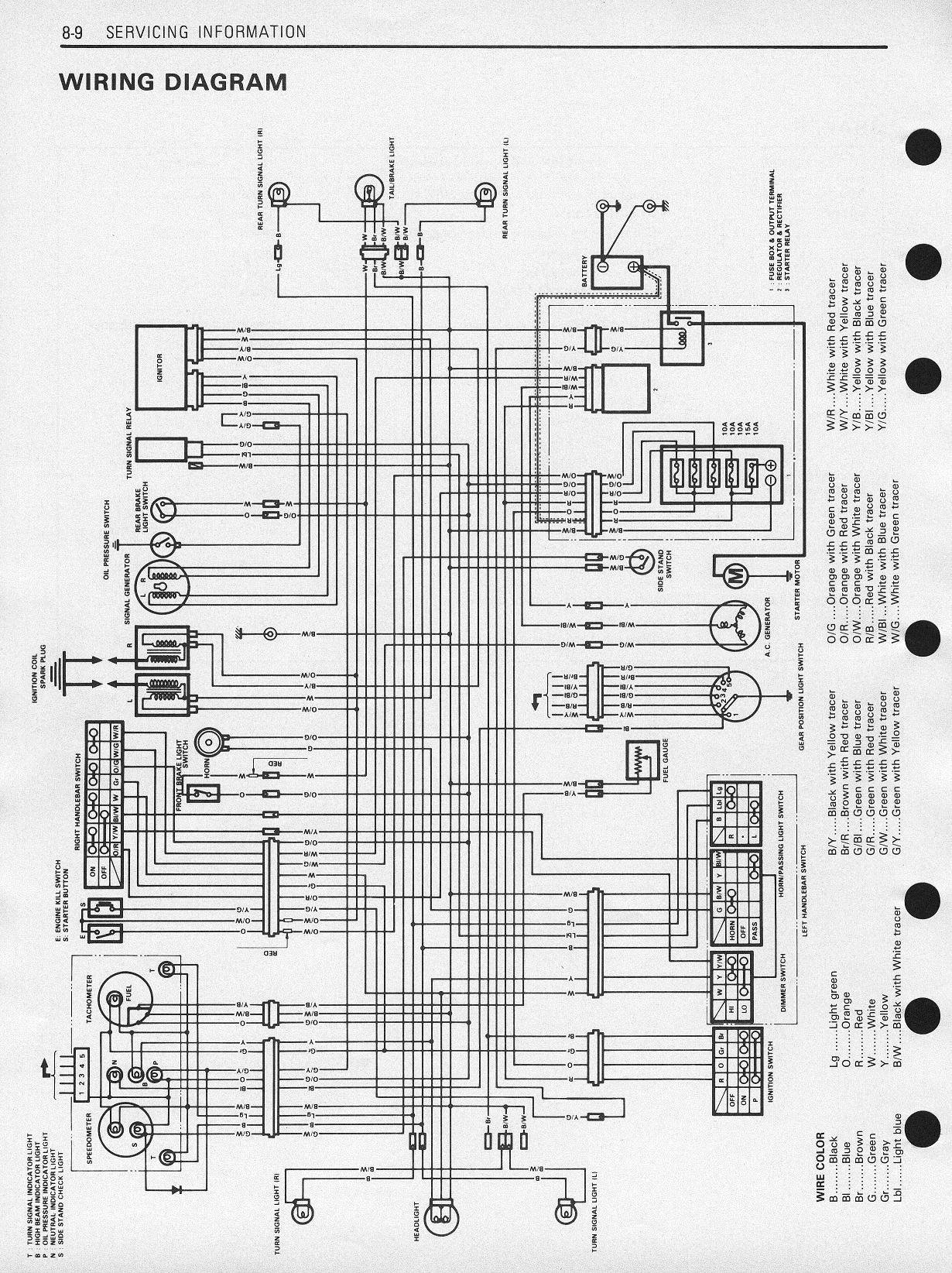 hight resolution of suzuki gr 650 wiring diagram