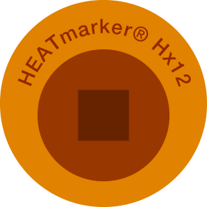 HEATmarker Hx12 after heat event