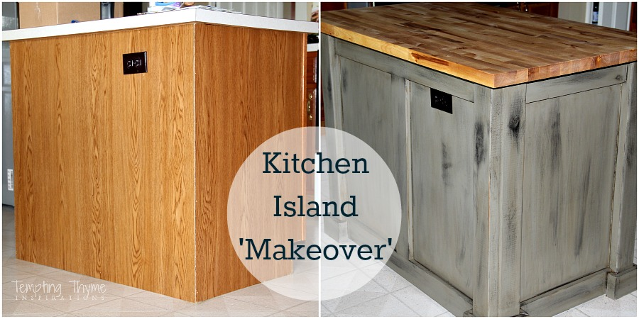 make a kitchen island brandsmart appliance packages makeover tempting thyme