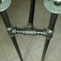 DIY Industrial Pipe Table!