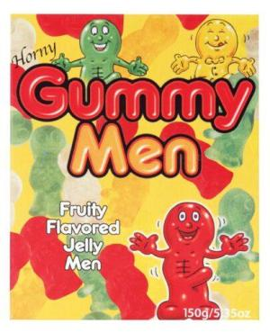 Horny Gummy Men Candy