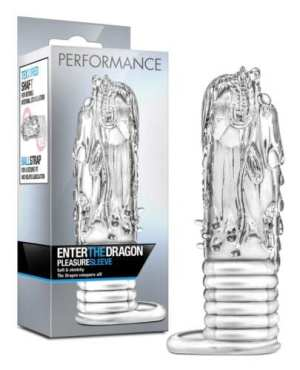 Blush Performance Enter the Dragon Penis Sleeve - Clear