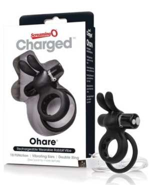 Screaming O Charged Ohare Vooom Mini Vibe - Black