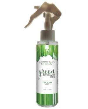 Intimate Earth Green Tea Tree Oil Toy Cleaner Spray - 4.2oz