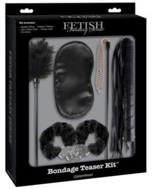 Fetish Fantasy Limited Edition Bondage Teaser Kit - Black