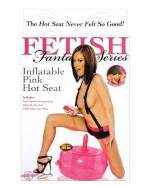Fetish Fantasy Series Inflatable Hot Seat - Pink